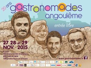 Affiche Gastronomades 2015