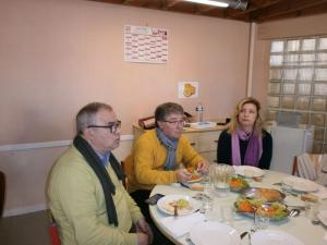 Visite maire Bevagna