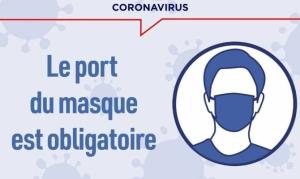 Coronavirus: port du masque obligatoire