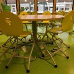 SIRC: chaises hautes en maternelle