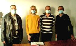 Signature de la convention entre le SIRC et Agir Charente